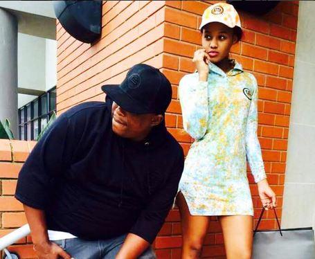 Babes Wodumo and Mampintsha. Image: Instagram
