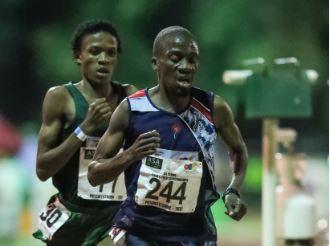 Stephen Mokoka back to his brilliant best