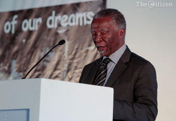 Former President Thabo Mbeki. Picture: Yeshiel Panchia