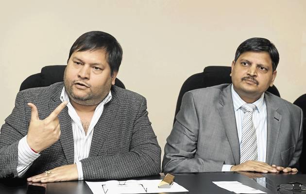 Ajay and Atul Gupta. File photo