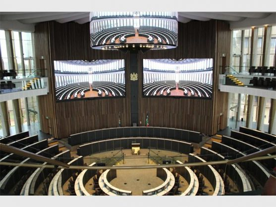 The interior of the new Joburg council chamber in Metro Centre, Braamfontein Pic: City of Joburg