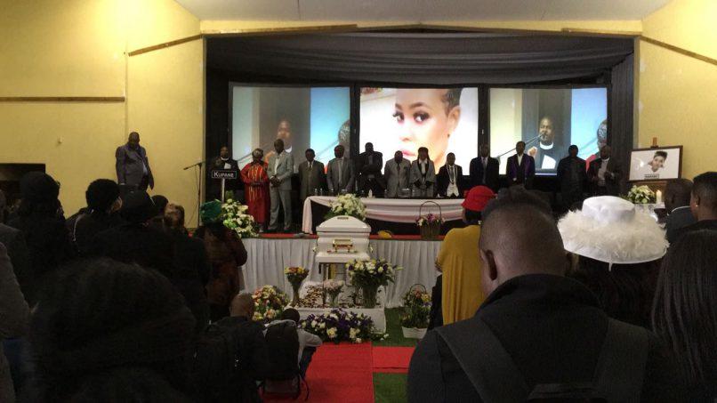The funeral of Karabo Mokoena was held in Diepkloof, Soweto on 19 May 2017. Image: Yeshiel Panachia