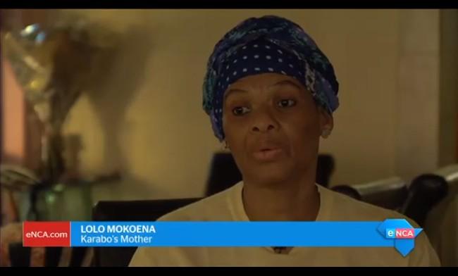 Karabo Mokoena's mom: I said to her, 'Sandile is going to kill you'