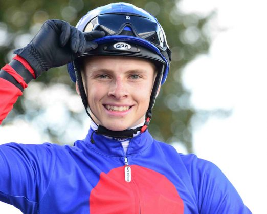 LYLE HEWITSON looks all set for a good day at Fairview today.