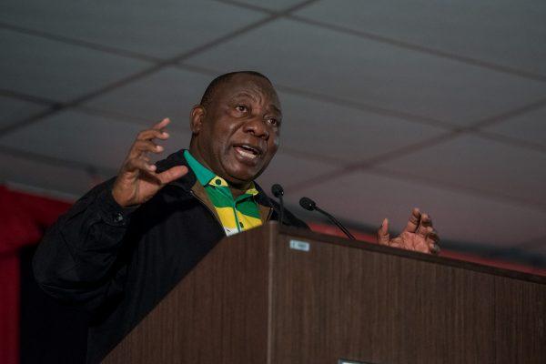 Deputy President Cyril Ramaphosa. Picture: Yeshiel Panchia
