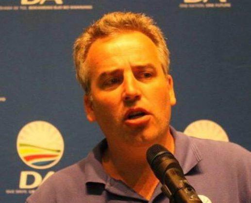 Democratic Alliance Limpopo leader Jacques Smalle. Picture: Facebook