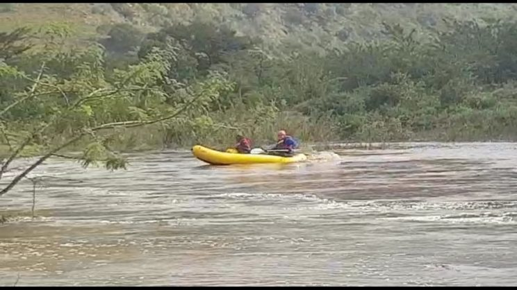 WATCH: Man safely rescued from island in KZN river