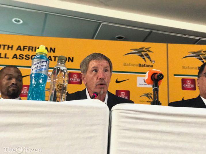 Bafana Bafana coach Stuart Baxter. Picture: Refilwe Modise