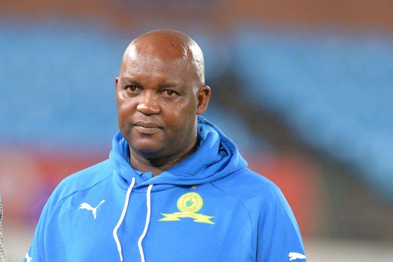 Pitso Mosimane coach of Mamelodi Sundowns (Photo by Lefty Shivambu/Gallo Images)