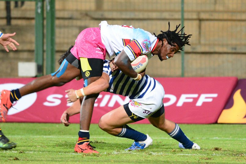 Rabs Maxwane dazzled in the Varsity Cup for Tuks. Now he's making his Super Rugby debut for the Bulls. Photo: Lee Warren/Gallo Images.