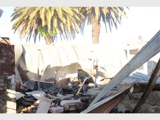 WAD Auction house was also a victim of looting last night. Photo: Sonwabile Antonie