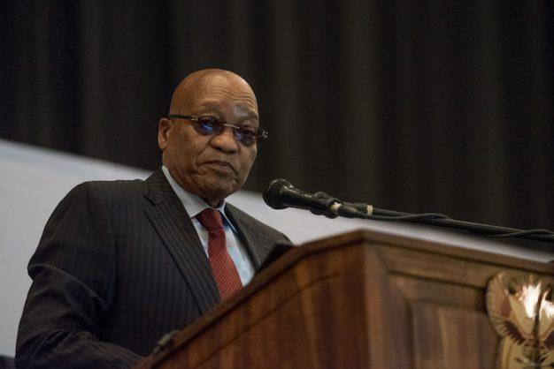 JZ reads 'President Gupta's speech' to empty opposition benches