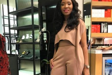 Norma Gigaba pitches at Brooklyn police station for her seized devices