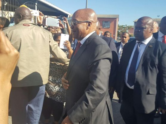 Zuma visits family of murdered courtney pieters the citizen