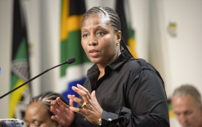 Minister of Public Service and Adminsitration Ayanda Dlodlo. File image.