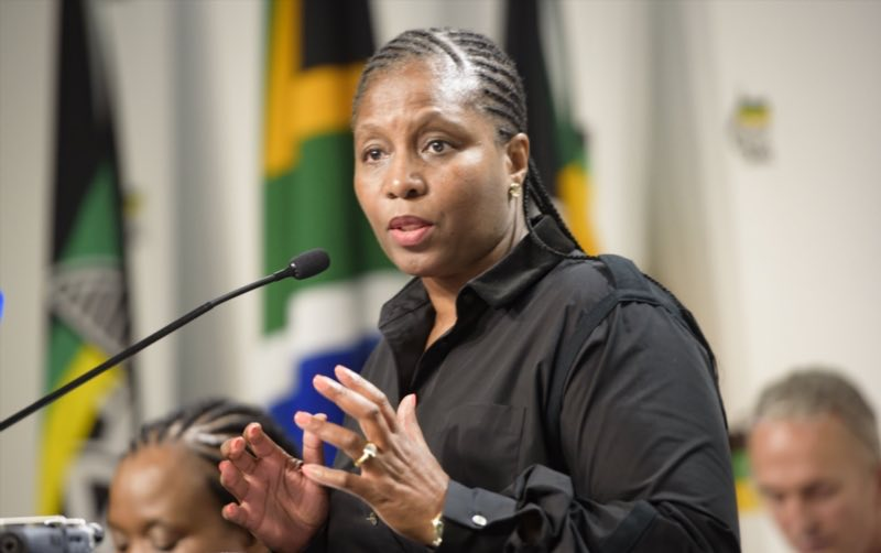 Communications Minister Ayanda Dlodlo during a media briefing at Luthuli House ahead of the party's June national policy conference on May 21, 2017 in Johannesburg, South Africa. Communications Minister and chairman of the ANC's subcommittee on legislation and local government, Ayanda Dlodlo said the party has taken serious note of the increasing levels of corruption in society, in the state and private sectors. Picture: Gallo Images