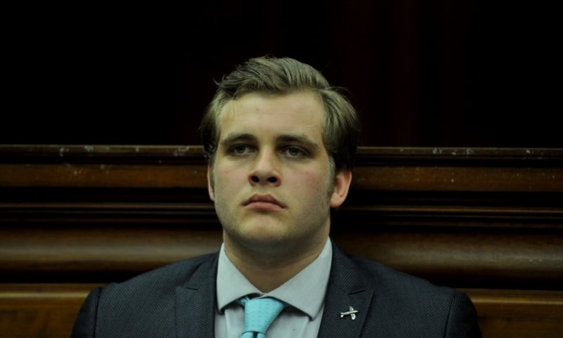 Murder accused Henri van Breda during day 26 of his of trial at the Western Cape High Court June 13, 2017 in Cape Town, South Africa. Henri Van Breda is accused of the brutal murders of his parents and brother, and the attempted murder of his sister in 2015. The case was postponed to 07 August, 2017. Picture: Gallo Images