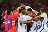 Video referee in focus as late strikes see Chile past Cameroon