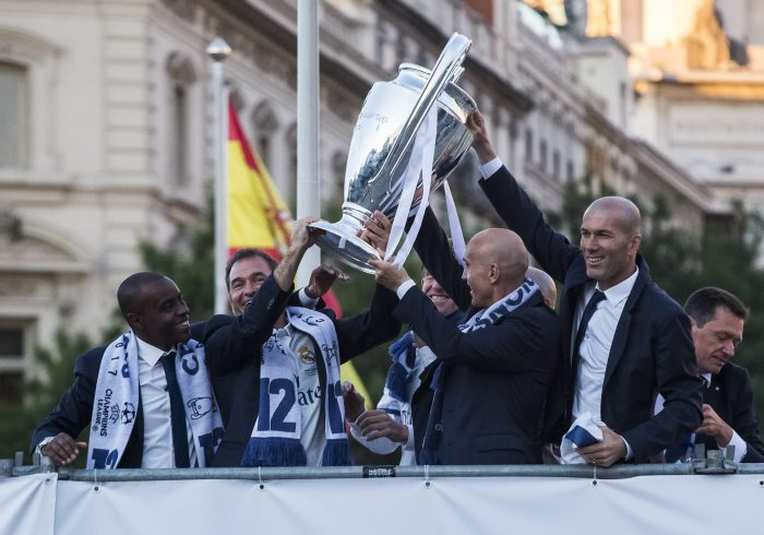 GALLERY: Real Madrid team returns to Madrid