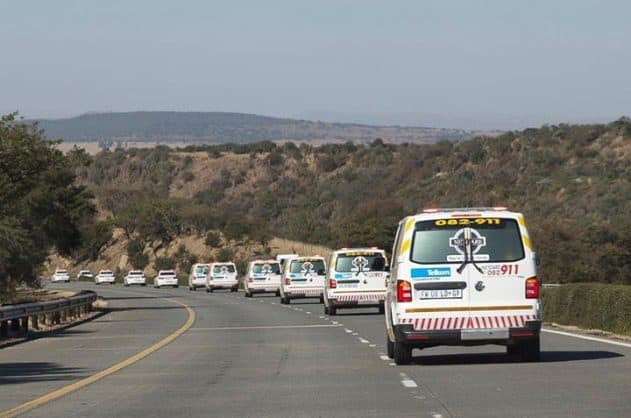 Accident scene. Photo: Netcare 911 Facebook page