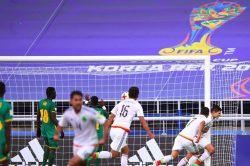 Cisneros' late strike sinks Senegal