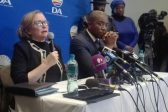 Zille slams 'disgusting racist' who asked if she told Maimane to slam 'Black DA' headline