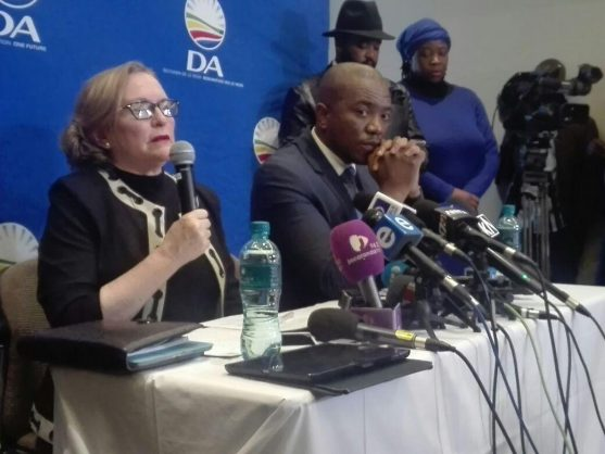 Helen Zille and Tony Leon: Two easy ways for the DA to alienate black voters