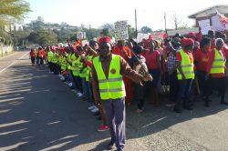 Shack dwellers march on Durban City Hall