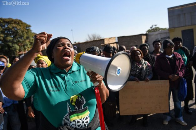 IN PICTURES: ANCWL march in support of Lindiwe Sangweni's family
