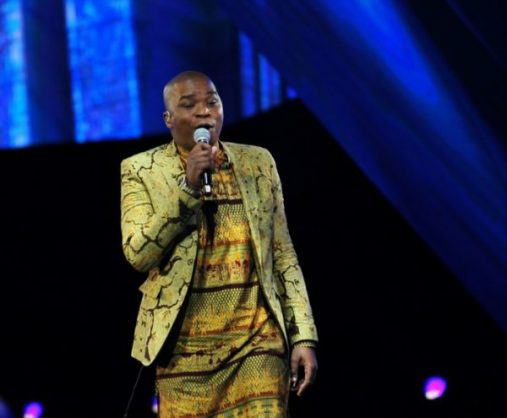Dr Tumi ring the 23rd annual South African Music Awards (SAMA 23) ceremony at Sun City on May 27, 2017 in Rustenburg, South Africa. Gallo images.