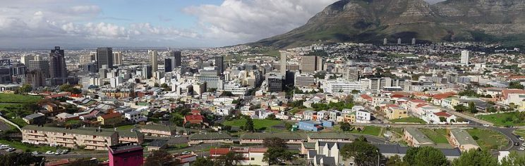 Panoramic view of the Mother City Credit: Wikipedia
