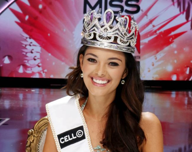 Miss SA Demi-Leigh Nel-Peters.