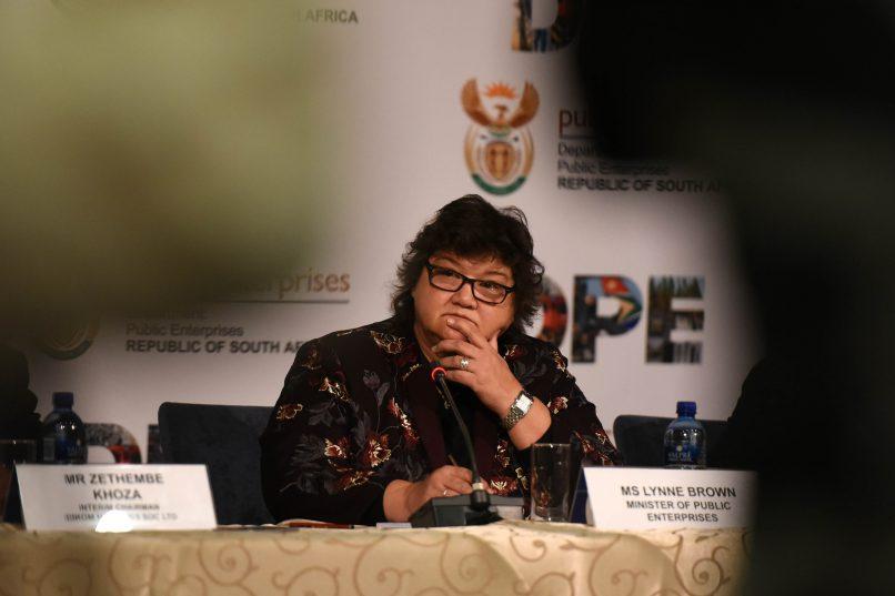 Minister Brown's partner accused of scoring huge tenders from Eskom