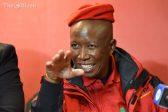Malema suspects corruption at the Orlando Pirates match