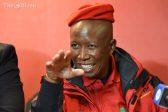 Malema suspects corruption at the Orlando Pirates match