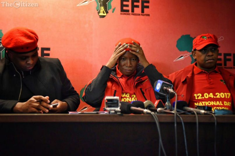 South Africa's EFF party files criminal complaint against finance minister