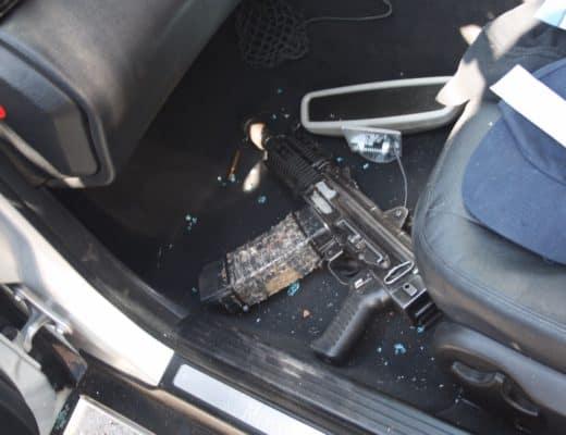 Rifle found