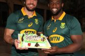 It's not fair to compare captaincies of Boks and Lions, says Whiteley