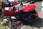 Footage emerges of Ferrari 488 Spider and Mazda crash