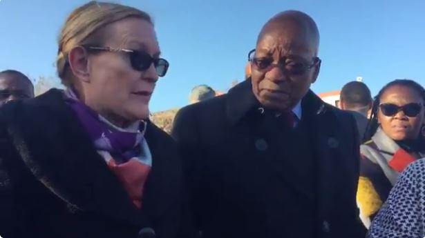 Zuma is 'charming', says Helen Zille