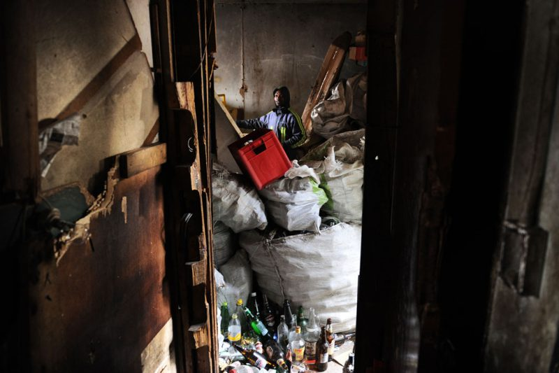 The residents are struggling to rebuild their lives and are appealing for any help: legal aid, food donations, warm clothes and blankets. Picture: Michel Bega