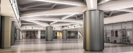 An artist's impression of what is to come in the concourse. Photo: CoCT