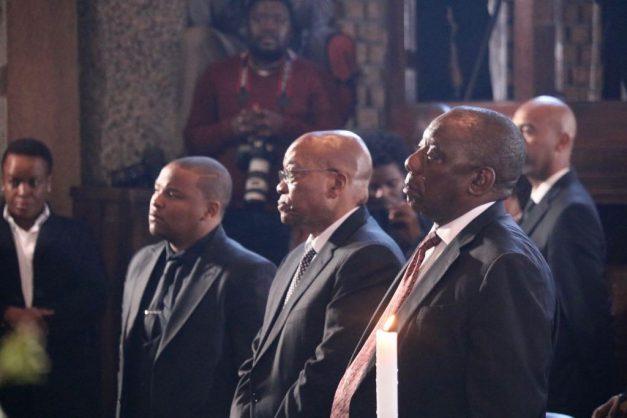 Mamoepa stayed steadfast and moral – Ramaphosa