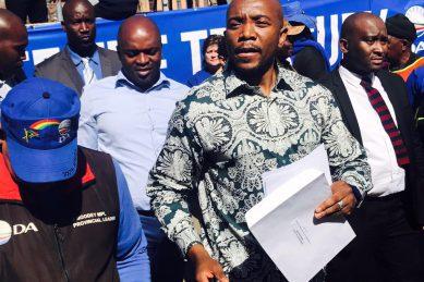 Gupta proxy Gigaba must quit, says Maimane