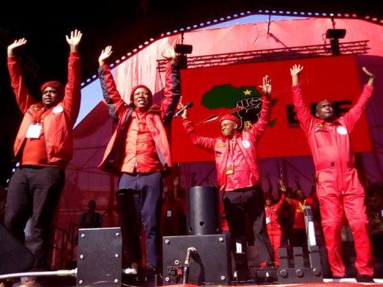 Malema hurls insults during EFF anniversary speech