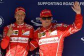 Sebastian Vettel takes Hungarian GP pole in Ferrari lockout