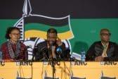 ANC NEC commits to unity, economic recovery