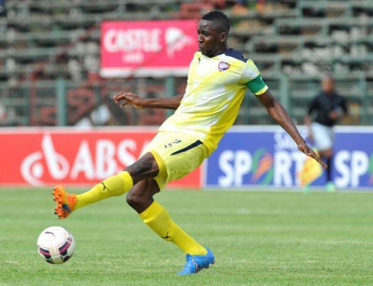 Frederick Nsabiyumva of Jomo Cosmos (Samuel Shivambu/BackpagePix)