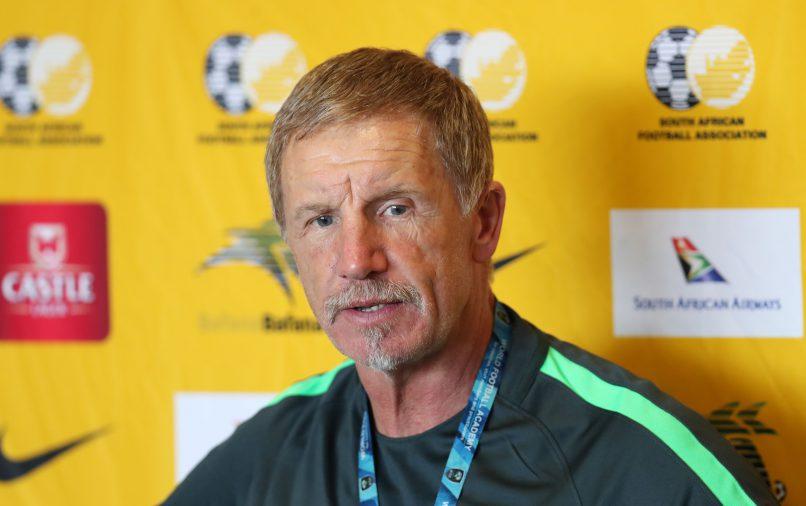 Stuart Baxter, coach of South Africa (Muzi Ntombela/BackpagePix)
