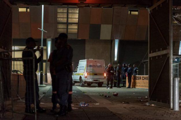Update: Two dead, 17 injured in stampede at FNB Stadium